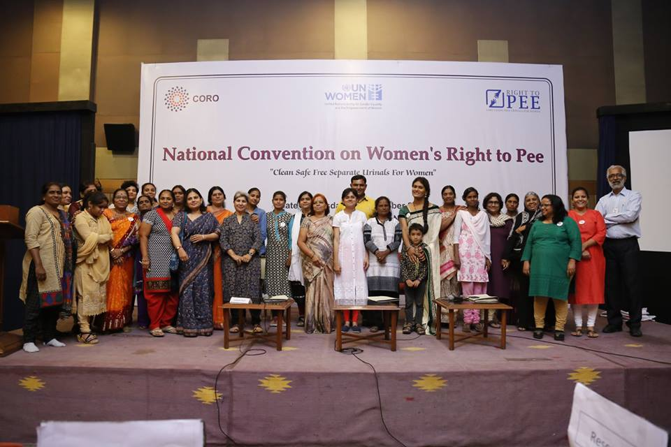 RTP (Right To Pee) Campaign goes national with a countrywide participation