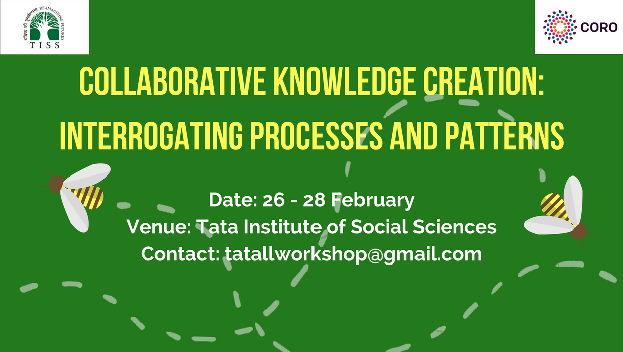 Upcoming Workshop on Collaborative Knowledge Creation (26-28 Feb. 2018)