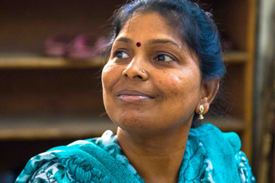 How Sheela is working to fight violence against women in her community
