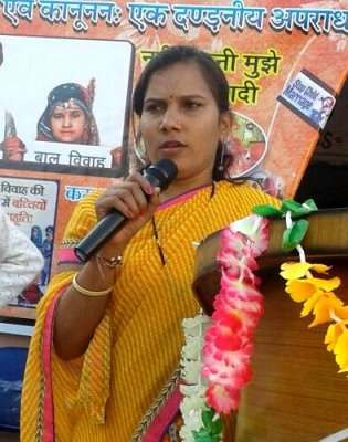 Tina Ranavat Says 'No More' to Child Marriage
